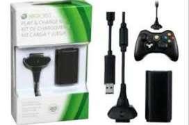 Kit Carga Y Juega Xbox 360 no te quedes sin divertirte