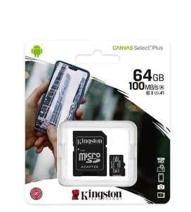 Micro Sd 64 Gb KIngston Original