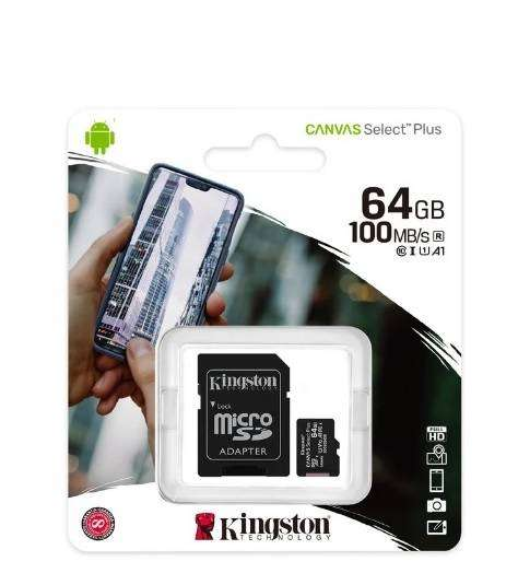 Micro Sd 64 Gb KIngston Original 0