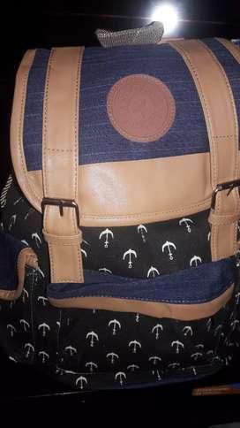 vendo mochilas