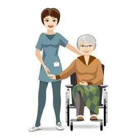Cuidadora de Ancianos por dias