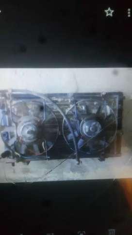Radiador de fiat con dos electros
