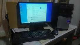 Computador Intel Xeon x5450, 4Gb Ram, 320gb disco, Windows 10
