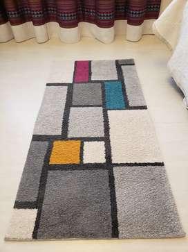 Juego de 2 alfombras pie de cama