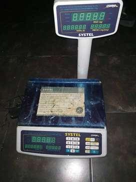 Balanza digital SIN USO