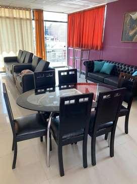 Vendo moderno comedor 6 sillas