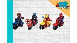 Lego de Super Héroes con accesorio