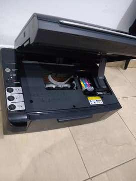 Impresora solo para repuestos, INYECTORES MALOS