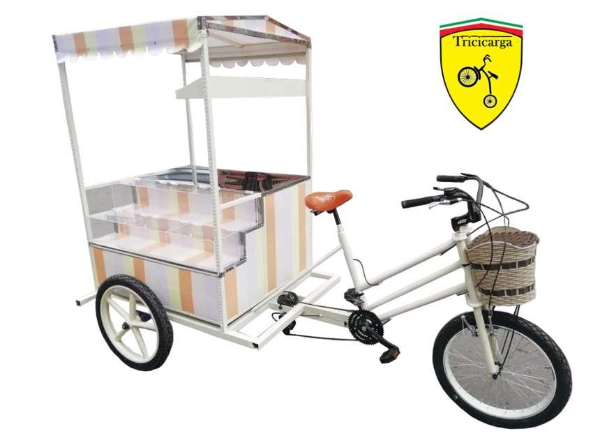 Triciclo Para Postres