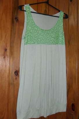 Vestido De Fiesta Corto Color Verde