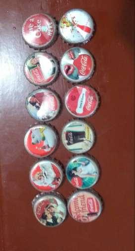 Tapas de colección Coca-Cola
