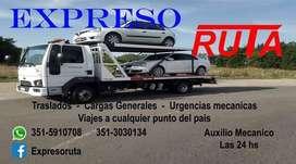 Expreso Ruta, servicio de auxilio, mudanzas y mas