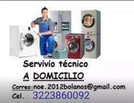 Técnico reparación   neveras lavadoras