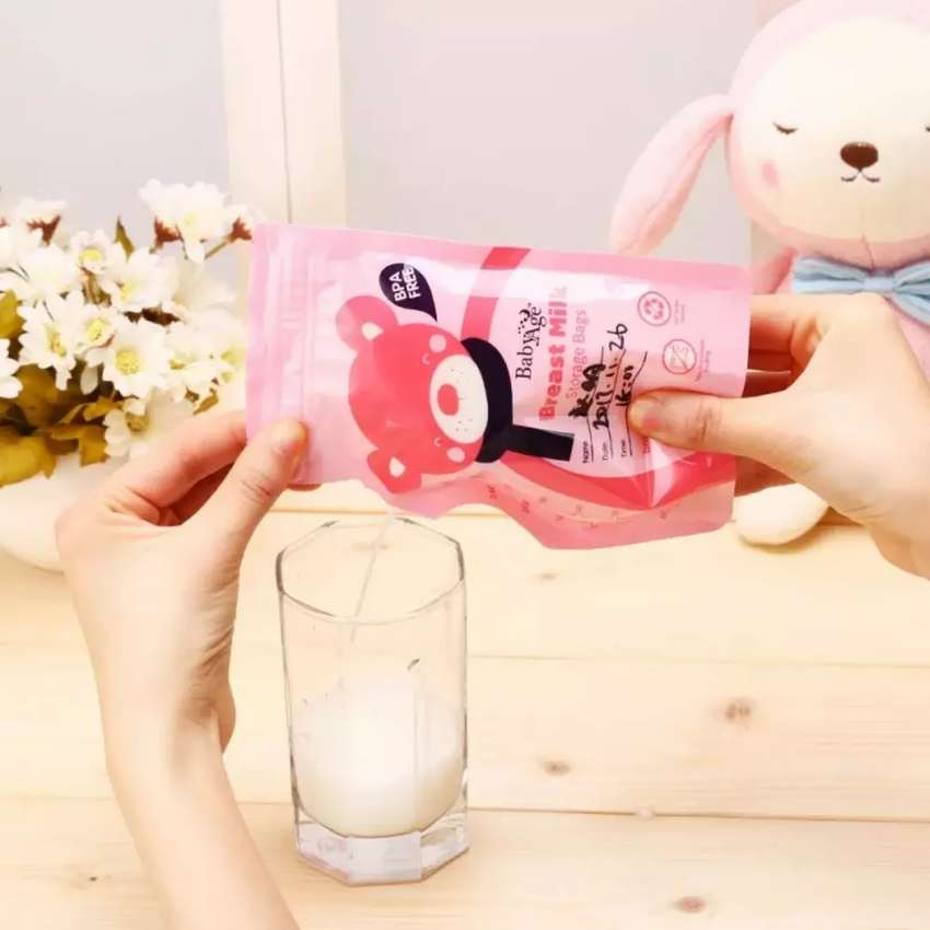 Bolsas para alamcenar leche materna x 30 unidades 0