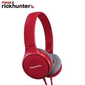 Audifonos Panasonic powerful sound Rphf100e rosado