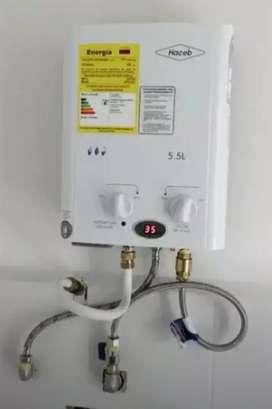 Vendo calentador de agua a gas natural