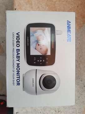 Monitor de video para bebe marca Anmeate