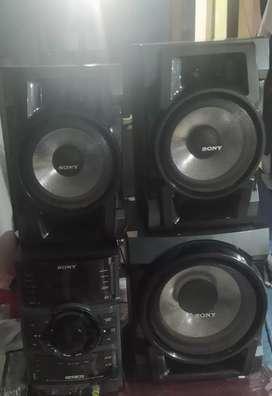 Venta de equipo de sonido