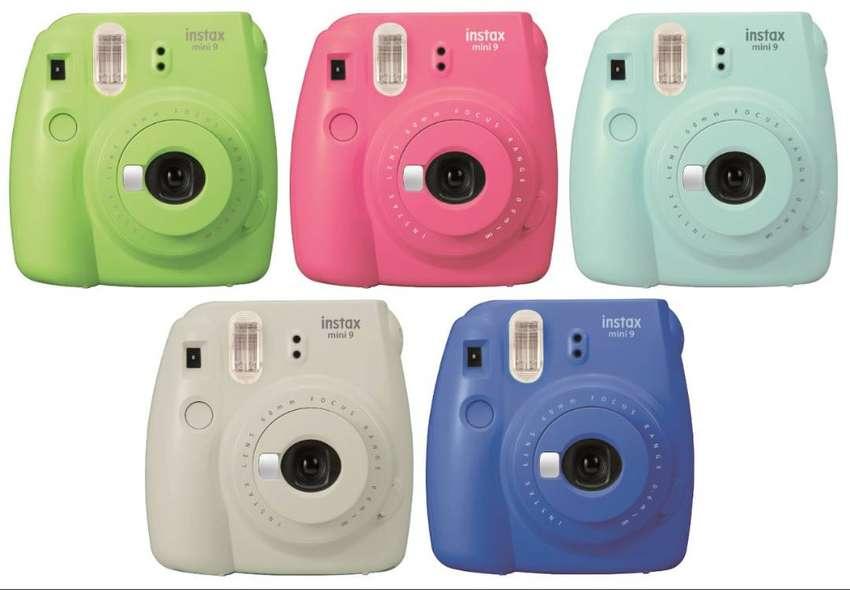 Cámara Fujifilm Fuji Instax Mini 9 Instantánea Original 0