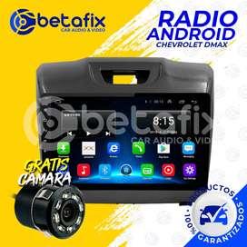 RADIO ANDROID PARA CHEVROLET DMAX 2014/19 GPS BT USB WIFI BETAFIX DESDE