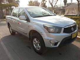 Camioneta Pick UP Actyon, Marca ssangyong koreana 2013, 118000kms, Mecánica, 4X4 $7200