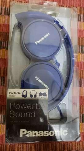 Se venden audífonos panasonic Referencia HF100 Color azul Valor$ 40.000