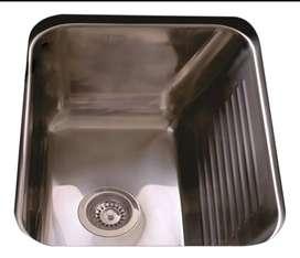 Bacha pileta lavadero/ cocina  acero inoxidable Johnson