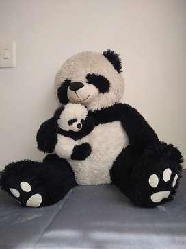 Oso panda con bebe. Hermosa!!!