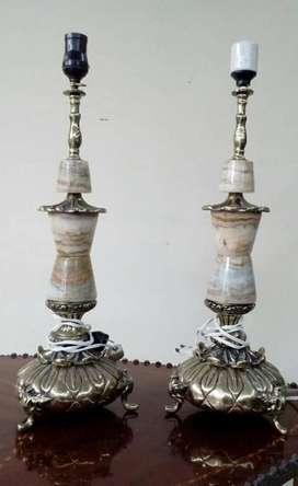 Antiguas Lámparas de Bronce