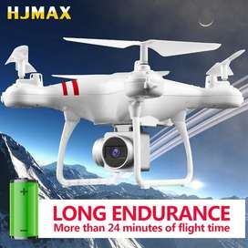 HJMAX drone camara HD 24 minutos fpv wifi sensores 2 mpx 100 metros actualizacion 2019