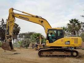 2003 Excavadora Hydraulica PC-200-6