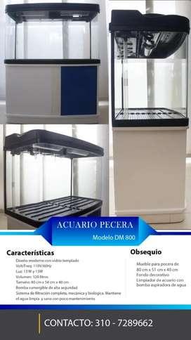 Acuario Pecera Modelo DM 800