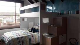 Camarote cama sencilla y semidoble