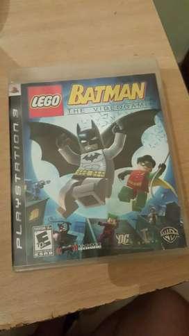 Vendo juego Batman Lego Ps3