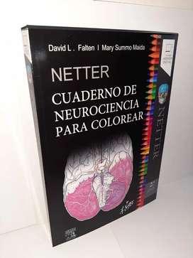 Cuaderno de Neurociencia Para Colorear Netter