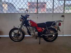 Moto Dukare DK-150-9 Negociable (Color: Rojo - Seminueva)