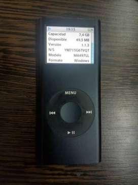 iPod Nano (2generacion) modelo A1199 8gb