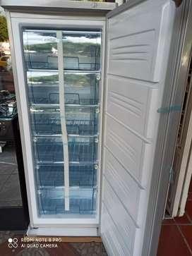 Congelador vertical con 1 año de garantia