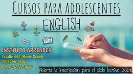 Curso de inglés para adolescentes en Monte Grande