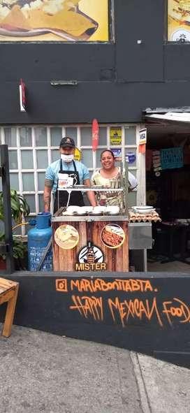 Se necesita vendedor de comidas rápidas en restaurante chapinero