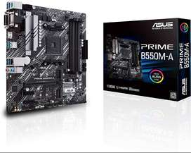 Motherboard ASUS PRIME B550M - A wifi placa base board gamer