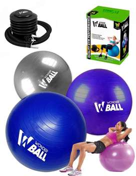balon pilates 65 cms con inflador won