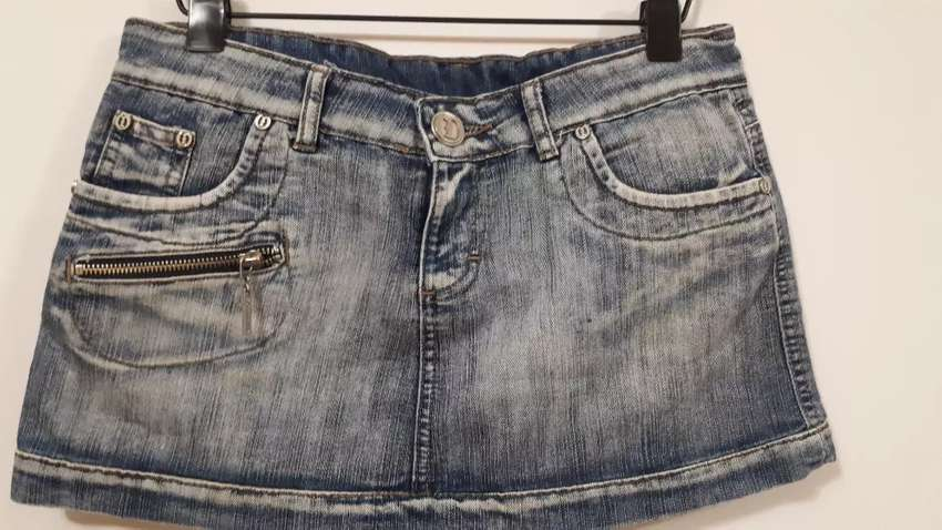 Pollera jeans Ossira 0