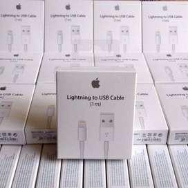 CABLE USB ORIGINAL GENUINE PARA IPHONE X, 8, 7, 6