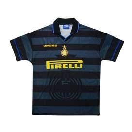 Camiseta Retro Alternativa Inter de Milan 1997