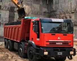 Camión Volcador 8x4 Iveco Eurotrakker 440