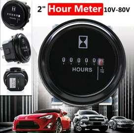 Medidor Horometro 12/36 VDC