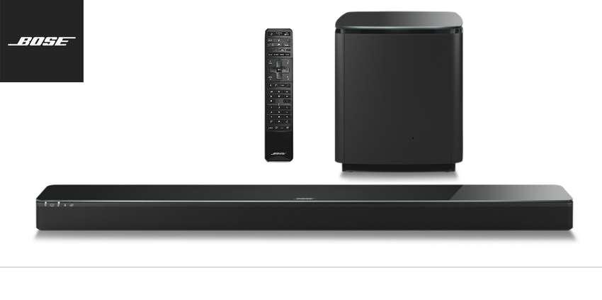 Bose Soundtouch Soundbar 300 + Sound Bass 500 Wifi