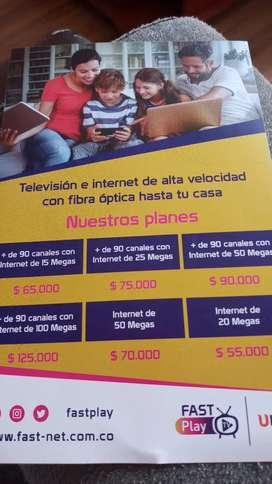 Internet y TV para el hogar