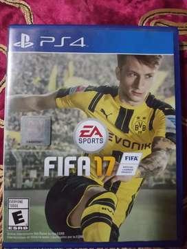 Vendo juego FIFA 17 de play 4 nuevo de paquete
